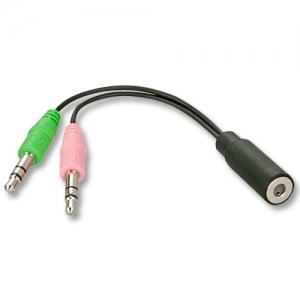 Audio adapter: iPhone´i kõrvaklappide ühendamiseks arvutiga