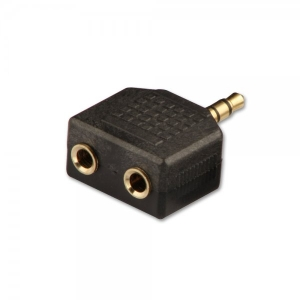 Adapter 3.5mm (M) - 2x3.5mm (F), must
