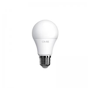 LED pirn, A60, E27 sokliga, 176-265V pingele, 9W(60W), 806 lumen, 2700K, 220 kraadi