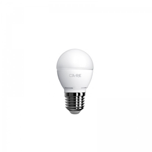 LED pirn, G45 E27 sokliga, 176-265V pingele, 6W(50W), 470 lumen, 2700K, 200 kraadi