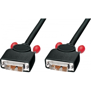 DVI-D Single Link kaabel 2.0m, 1920x1200@60Hz, Black Line