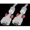 VGA kaabel 1.0m, hall, DDC tugi