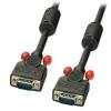 VGA kaabel 1.0m, must ferriitidega, DDC Premium