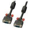 VGA kaabel 7.5m, must ferriitidega, DDC Premium