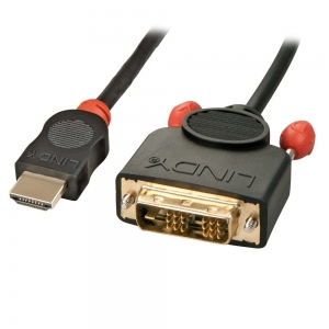 HDMI - DVI-D Single Link kaabel 5.0m, must