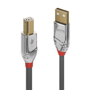 USB 2.0 kaabel A - B 7.5m, CROMO
