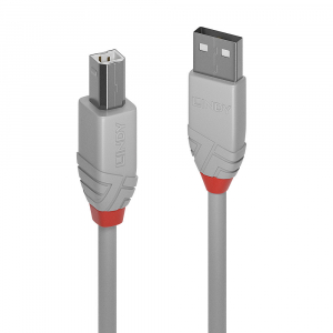 USB 2.0 kaabel A - B 0.5m, Anthra Line