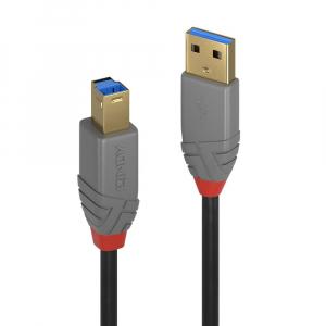 USB 3.0 kaabel A - B 2.0m, ANTHRA