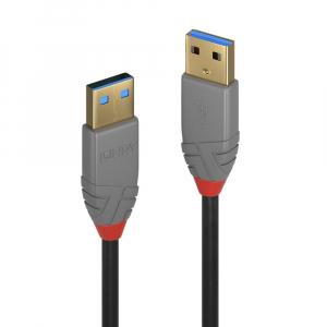 USB 3.0 kaabel A - A 3.0m, ANTHRA