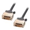 DVI-D Dual Link kaabel 10.0m, hall, kullatud