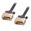 DVI-D Single Link kaabel 10.0m, hall, Gold, 1080p