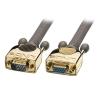VGA pikenduskaabel 50.0m, Gold