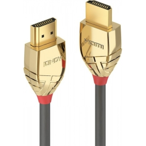 HDMI kaabel 0.5m, Ethernet, 4K 4096x2160@60Hz, GOLD
