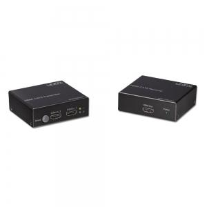HDMI pikendaja läbi CAT5e/6, kuni 70m + HDMI Switch, 2 porti