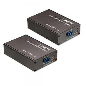 HDMI pikendaja läbi FO kaabli kuni 3000m, HDMI 1.3/1.4a 3D CAT2, Full HD, HDCP tugi (kuni 700m)