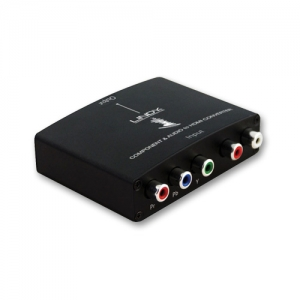 Konverter Komponent video 3xRCA + Audio 2xRCA > HDMI