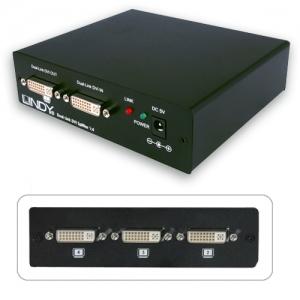 DVI splitter, 4 porti (Max. kaabli pikkus: 15.0m sisse/ 15.0m välja)