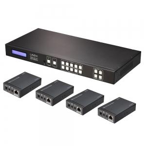 HDMI ja IR Matrix 4x4/ pikendaja CAT6 50.0m