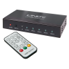 HDMi switch, 2160p, 4 sisse/ 1 välja, kaugjuhtimispuldiga, pilt-pildis funktsiooniga