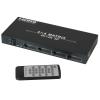 HDMI matrix switch 4K, 4 sisse/ 4 välja, 2160p, puldiga