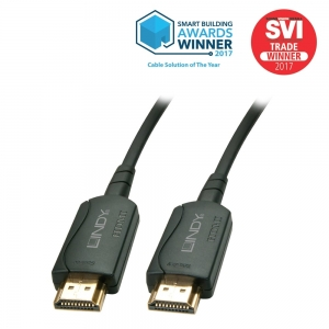 HDMI kaabel 40.0m, Fibre Optic Hybrid 2160p@60Hz, LSZH