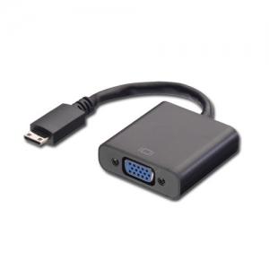 Konverter Mini HDMI (M) - VGA (F) 1080p/ 1920x1200 0.1m