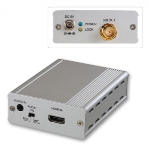 Konverter HDMI (M) - 3G SDI, 2K (koos LIN38198 on pikendaja)