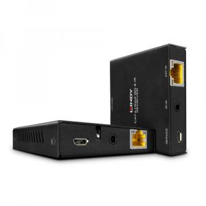 HDMI pikendaja läbi CAT5e/6/7 kuni 50m, 2160p60Hz + IR pikendaja (saatja+vastuvõtja)
