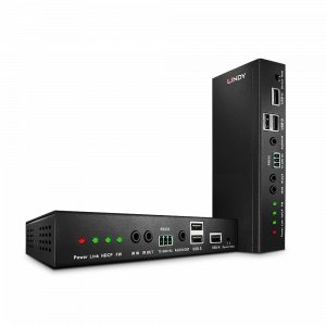 KVM pikendaja HDMI, USB, RS-232, IR, Ethernet, heli Ultra HD 2160p@60Hz/ 1080p 3D kuni 100m läbi CAT6/7