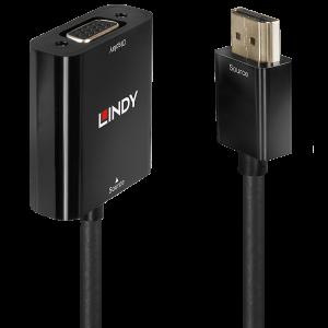 Konverter HDMI (M) - VGA 2K@60Hz 0.1m, must