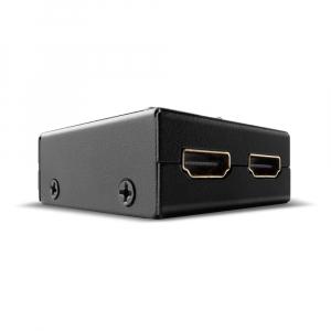 HDMi switch, 2 sisse/ 1 välja, kahesuunaline (töötab mõlemas suunas) 18G