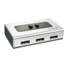 DisplayPort switch 2 sisse / 1 välja, DisplayPort 1.2, kuni 2160p@60Hz