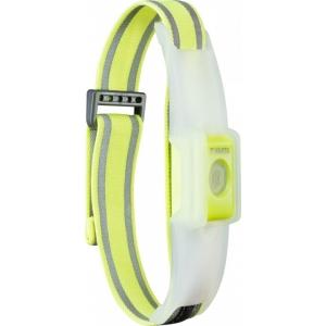LED käepael helkuriga, kollane, 4lm (kaasas 2x CR2032)
