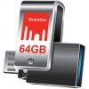 Mälupulk 64GB USB 3.0/ Micro-A, OTG, metall
