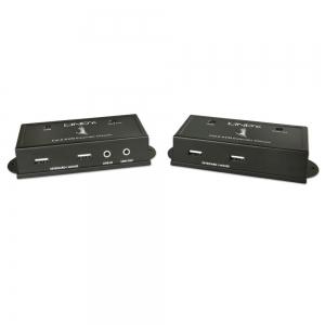 KVM pikendaja, HDMI + USB + Heli, 3D 1080p, (1920x1200 kuni 50m CAT6 kaabliga)