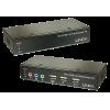 KVM pikendaja, DVI-D + USB + Heli (1920x1200 kuni 50m CAT5/6 kaabliga)
