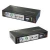 KVM (VGA, PS/2, USB) kaabli pikendus läbi CAT5e kuni 300m + 2.0m kaablid