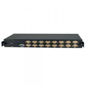 "KVM Switch - U16C (16 x VGA) 1U 19"" (Lindy LCD Terminalie LIN21615)"