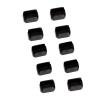 Mini DisplayPort/ Thunderbolt pordi lukk, must, 10tk