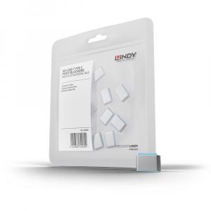 LINDY 40465 USB-C pordi lukk, sinine, 4tk + võti