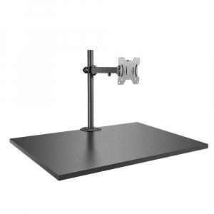Hoidik 1-le monitorile, väljaulatuv, must, kuni 8kg, VESA 75 x 75mm ja 100 x 100mm