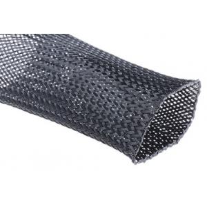 Kaablirüüz 40mm (35-60mm) must, 5m polüester, sukk