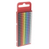 Assorted Clip On Cable Marker, Pre-printed with 0 to 9, Pack of 200