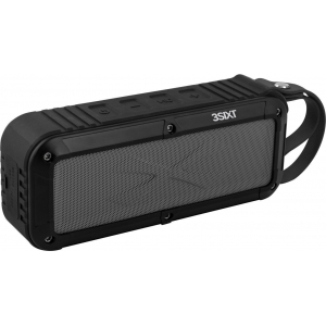 Bluetooth kõlar, akuga kuni 8h, IPX6, AUX integreeritud mikrofoniga, must