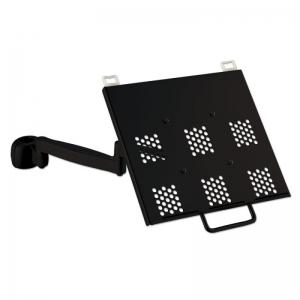 Sülearvuti hoidik, väljaulatuv (kuni 526mm pikk), must (lauakinnitus eraldi)