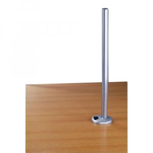 Monitori hoidiku lauakinnitus, 700mm pikk (laua peale), hõbe