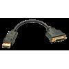 Üleminek DisplayPort (M) - DVI-D (F) 0.15m