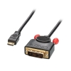 Mini HDMI - DVI-D Single Link kaabel 0.5m