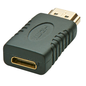 LINDY 41208 Üleminek Mini HDMI (F) - HDMI (M)