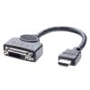 Üleminek HDMI (M) - DVI-D (F) , 1080p (HDMI monitorile) 0.2m